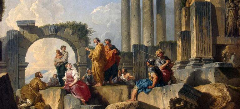 El dios desconocido. Pablo, los estoicos y epicúreos