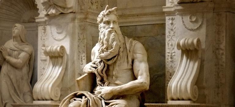 Traducción, Jerónimo y un Moisés con cuernos